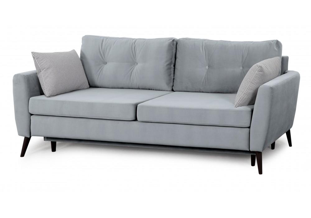 Диван-кровать Калгари - 2 (мора серый/джейми серый)