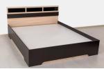 Кровать SV-МЕБЕЛЬ (Спальня Эдем 2 К) Дуб Венге/Дуб млечный 140/200