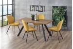 Стол обеденный HALMAR ESPOSITO орех/черный, 160/90/76