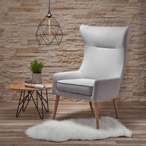 Кресло HALMAR FAVARO 2 светло-серый