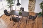 Стол обеденный Halmar FIRMINO (темный орех/графит)