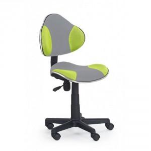 Кресло компьютерное HALMAR FLASH 2 серо\зеленое