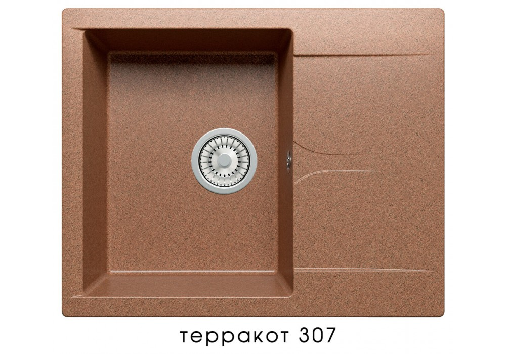 Мойка POLYGRAN GALS-620 №307 терракот