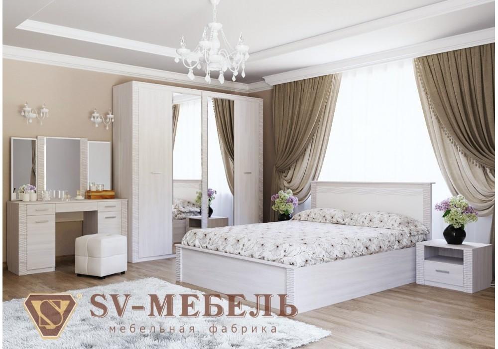Спальня МС ГАММА 20 SV-МЕБЕЛЬ (Ясень Анкор св./Сандал св.)