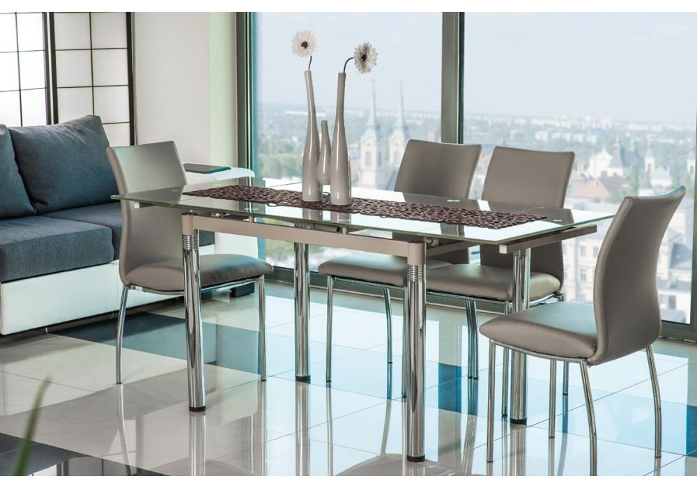 Стол обеденный SIGNAL GD018 темный беж