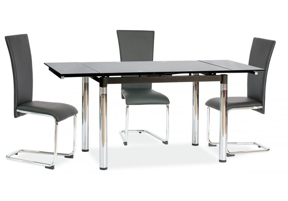 Стол обеденный SIGNAL GD018 черный