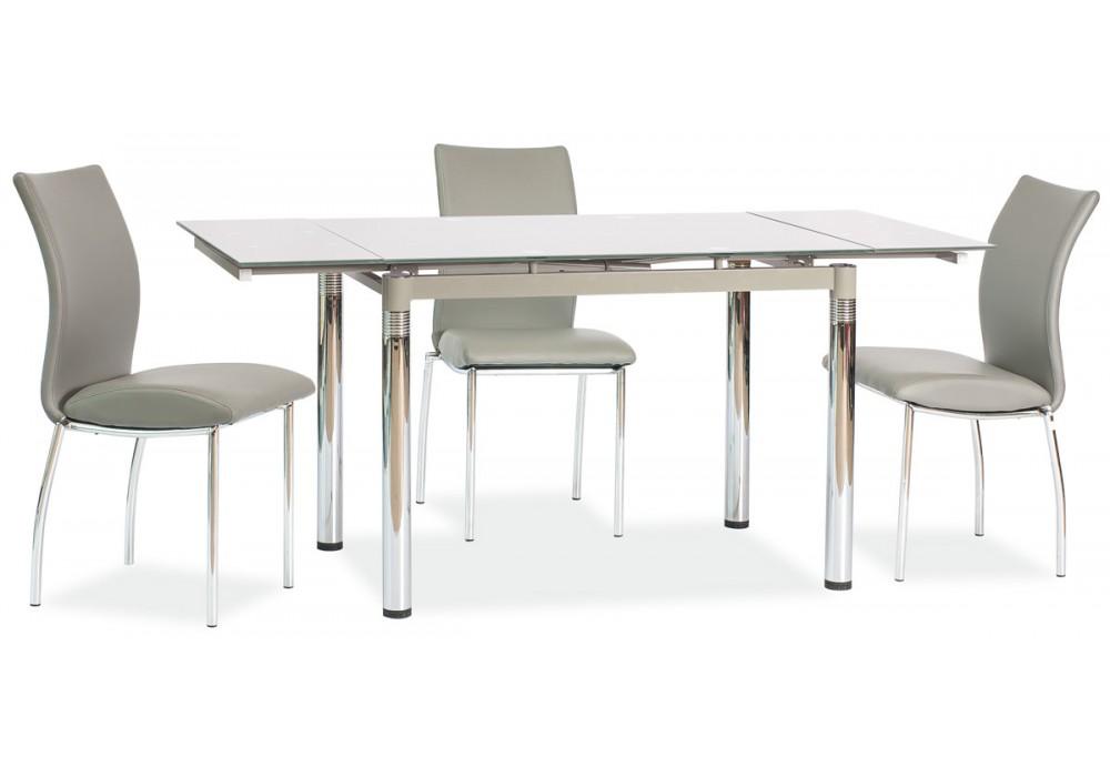 Стол обеденный SIGNAL GD018 серый