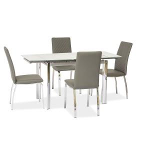 Стол обеденный SIGNAL GD019 белый 70x100