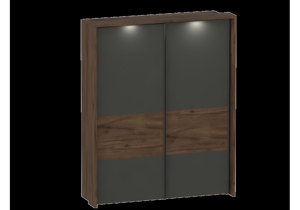 Шкаф с раздвижными дверями с обрамлением спальня Глазго