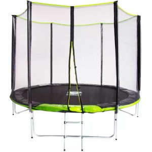Батут Fitness Trampoline GREEN 10 FT Extreme