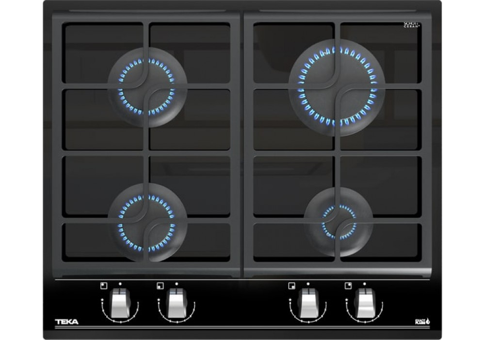 Газовая варочная панель TEKA GZC 64300 XBN BLACK