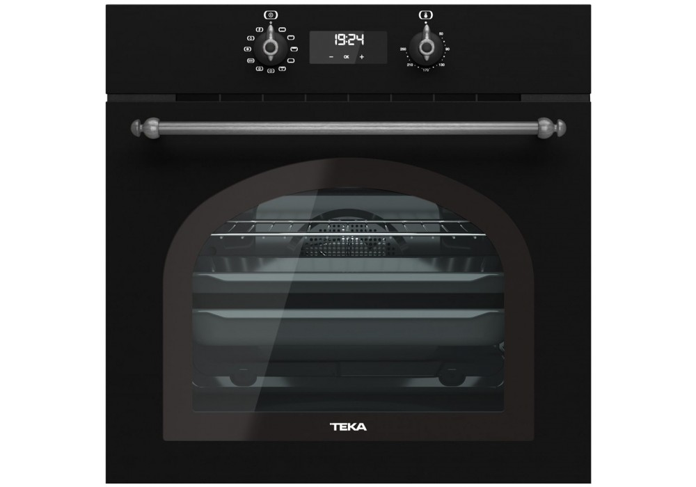 Мультифункциональный духовой шкаф TEKA HRB 6400 ATS SILVER антрацит/сост.серебро