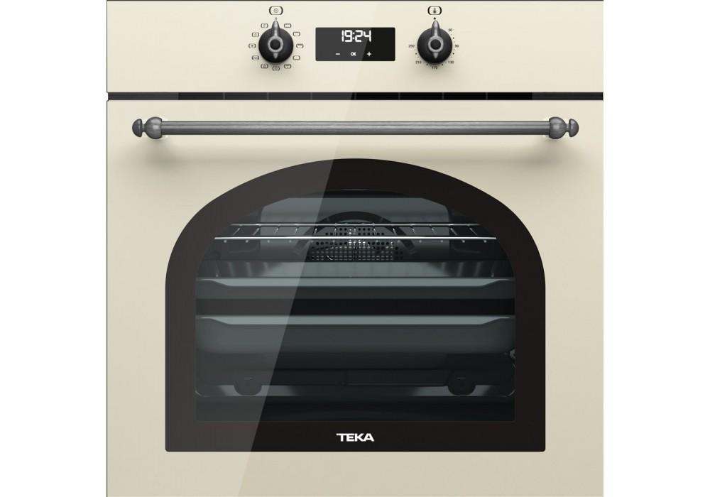 Мультифункциональный духовой шкаф TEKA HRB 6400 VNS SILVER ваниль/сост.серебро