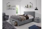 Кровать SIGNAL INES серый, 160/200