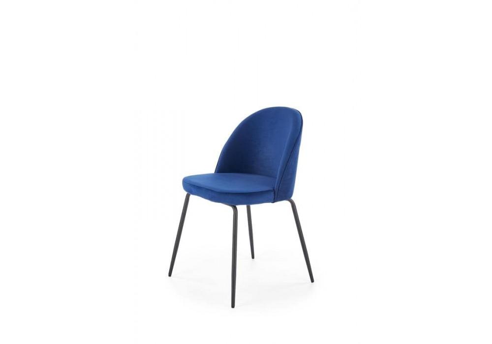 Стул HALMAR K314 синий/черный