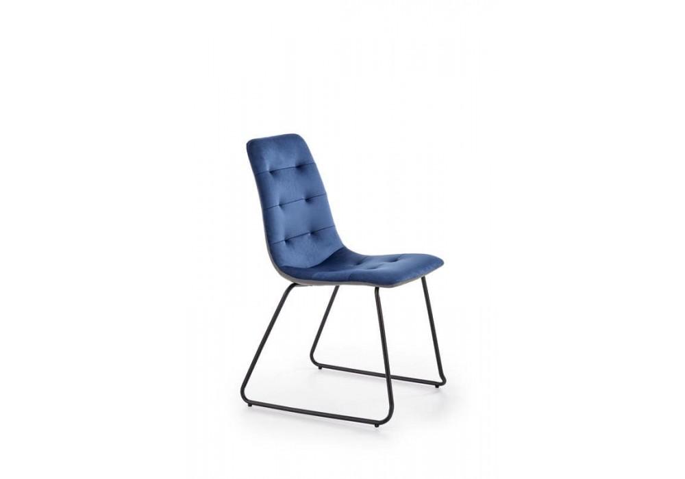 Стул HALMAR K321 синий/черный