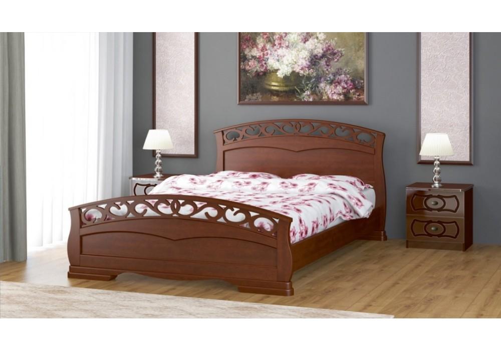 """Кровать """"Грация-1"""" 1600 орех"""