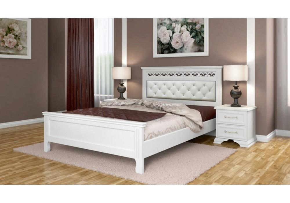 """Кровать """"Грация"""" 1600 белый античный"""