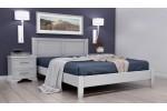 """Кровать """"Грация-3"""" 1600 Белый античный"""