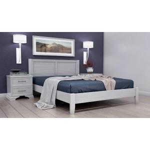 """Кровать """"Грация-3"""" 1400 Белый античный"""