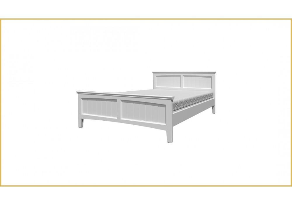 """Кровать """"Грация-4""""  белый античный 1400"""
