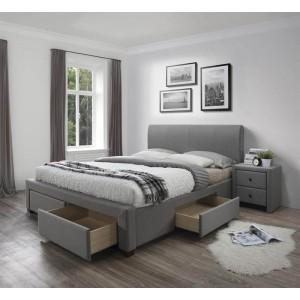 Кровать HALMAR MODENA 3 160 серый