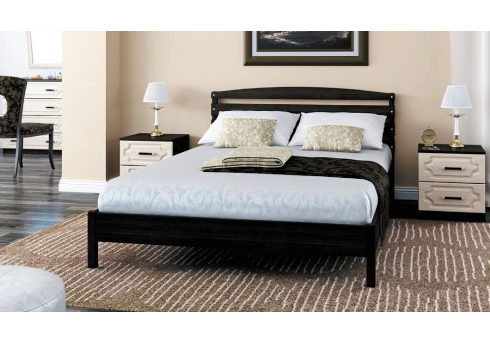 """Кровать """"Камелия-1"""" венге 1400"""