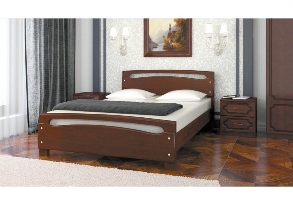 """Кровать """"Камелия-2"""" орех 1400"""