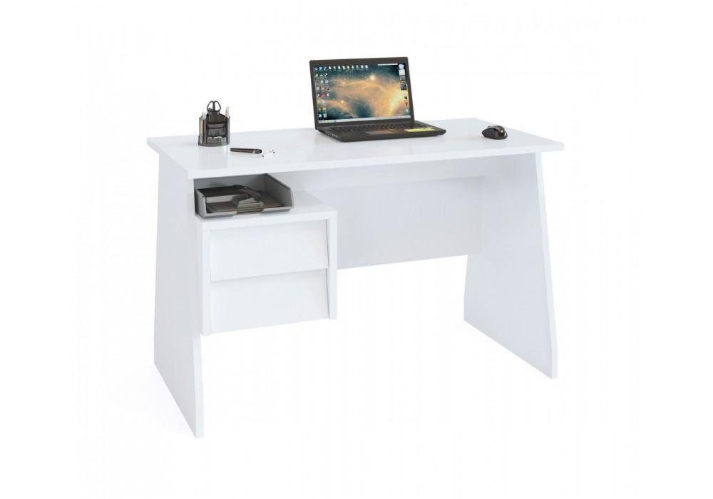 Стол компьютерный Сокол КСТ-115 белый
