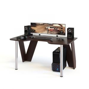 Стол компьютерный Сокол КСТ-116 венге