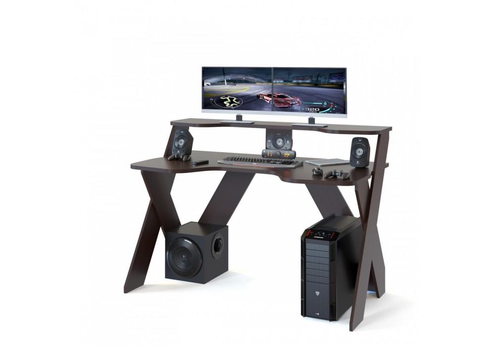 Стол компьютерный Сокол КСТ-117 венге