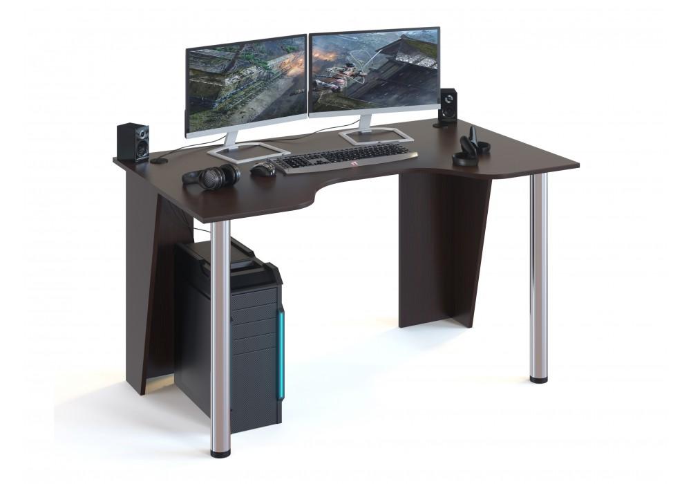 Стол компьютерный Сокол КСТ-18 венге