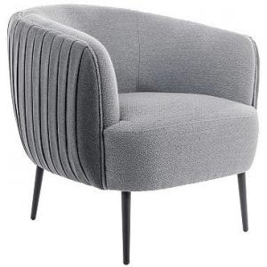 Кресло SIGNAL LENOX 1 TAP.160/161 серый/черный