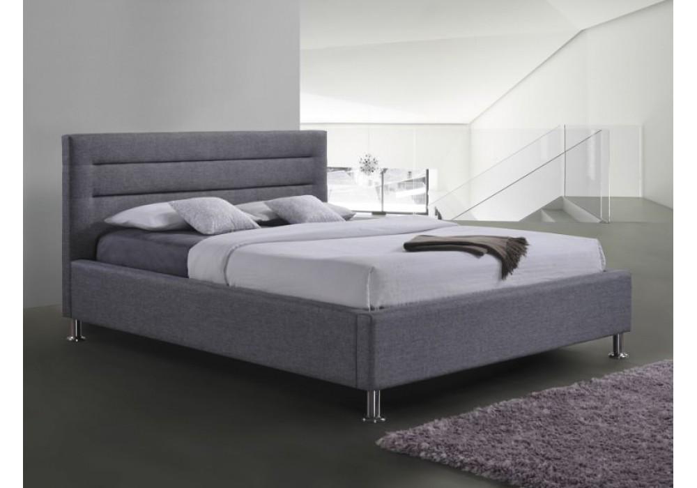 Кровать SIGNAL LIDEN серая,160х200
