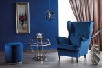 Кресло SIGNAL LORD VELVET Bluvel86, темно-синий
