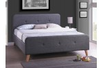 Кровать SIGNAL MALMO серая 160/200