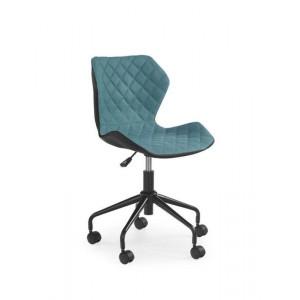 Кресло компьютерное HALMAR MATRIX черно\бирюзовый