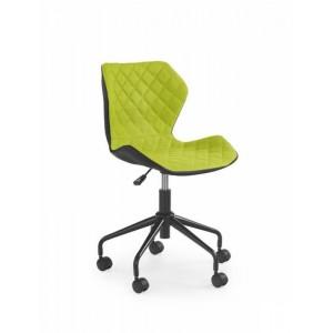 Кресло компьютерное HALMAR MATRIX черно\зеленый