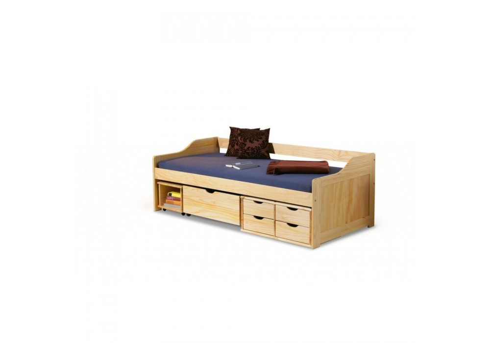 Кровать HALMAR MAXIMA 2 сосна