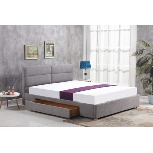 Кровать HALMAR MERIDA серая, 160/200