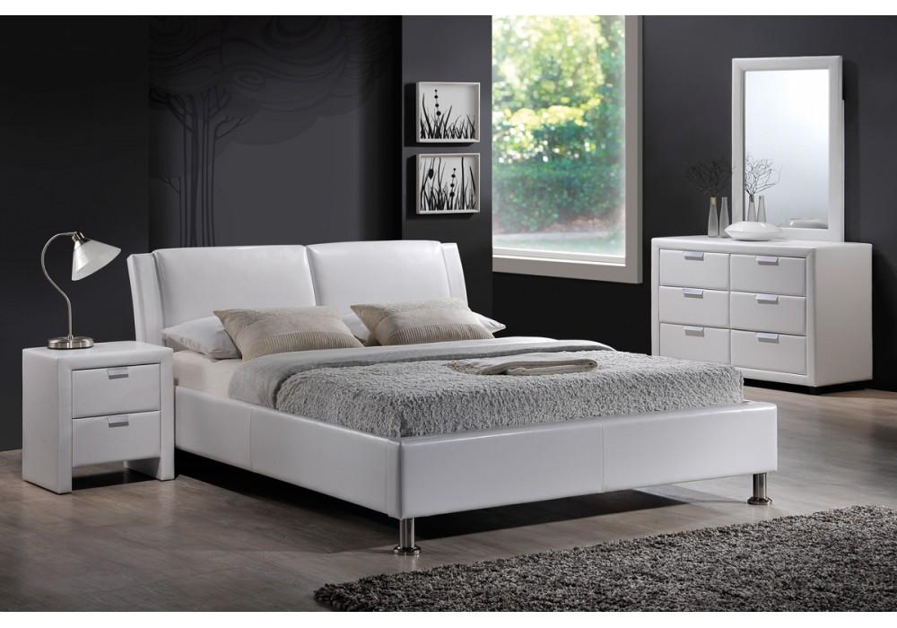 Кровать SIGNAL MITO 160/200 белая