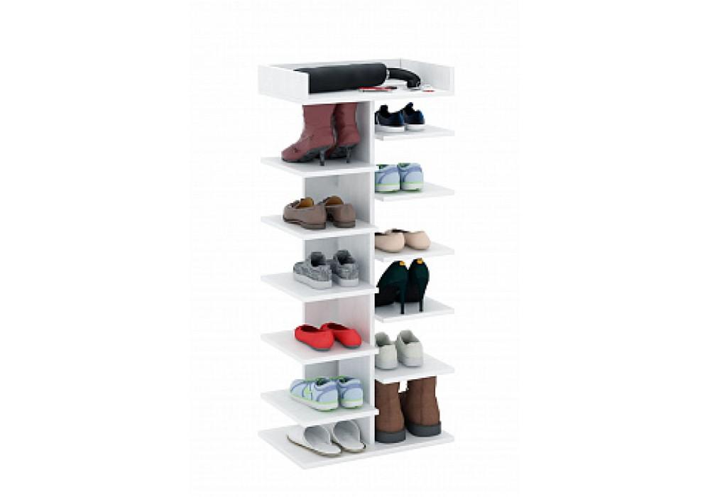 Обувница MFMaster Норта-3 (белый)