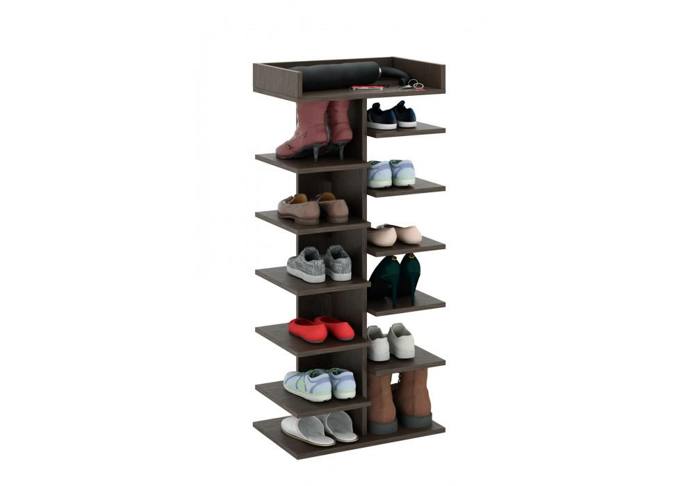 Обувница MFMaster Норта-3 (венге)