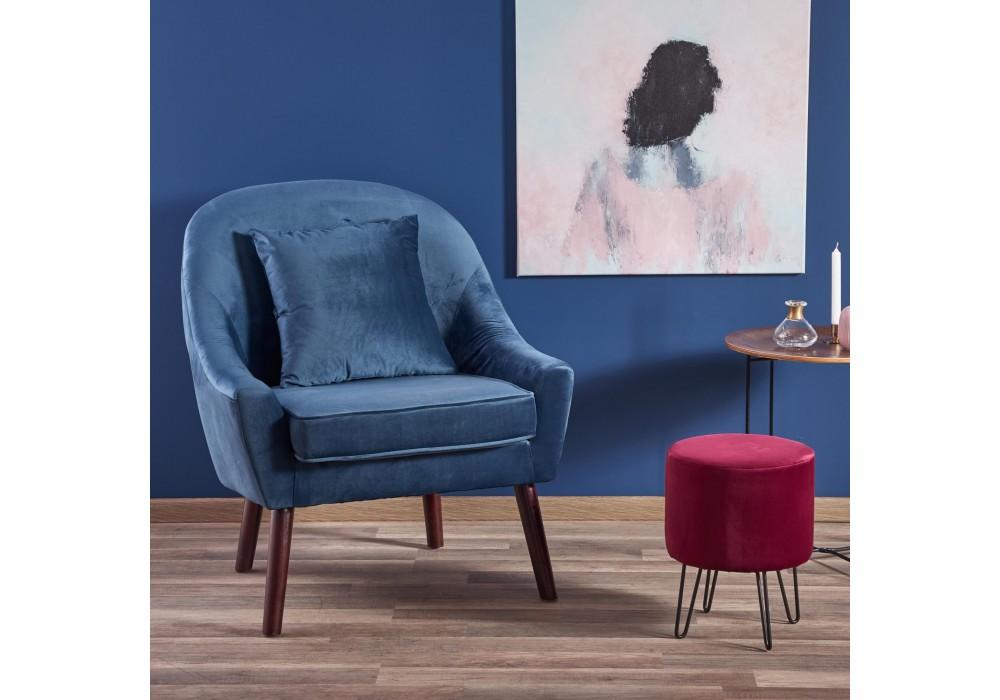 Кресло HALMAR OPALE темно-синий