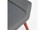 Кресло HALMAR OPALE серый