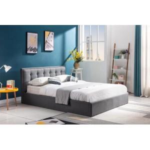 Кровать HALMAR PADVA серый, 160/200 с подъёмным механизмом!!!