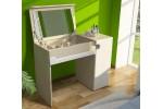 Стол туалетный Палермо (Белый глянец)