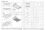 Кровать SIGNAL PARMA бело\черная 160/200