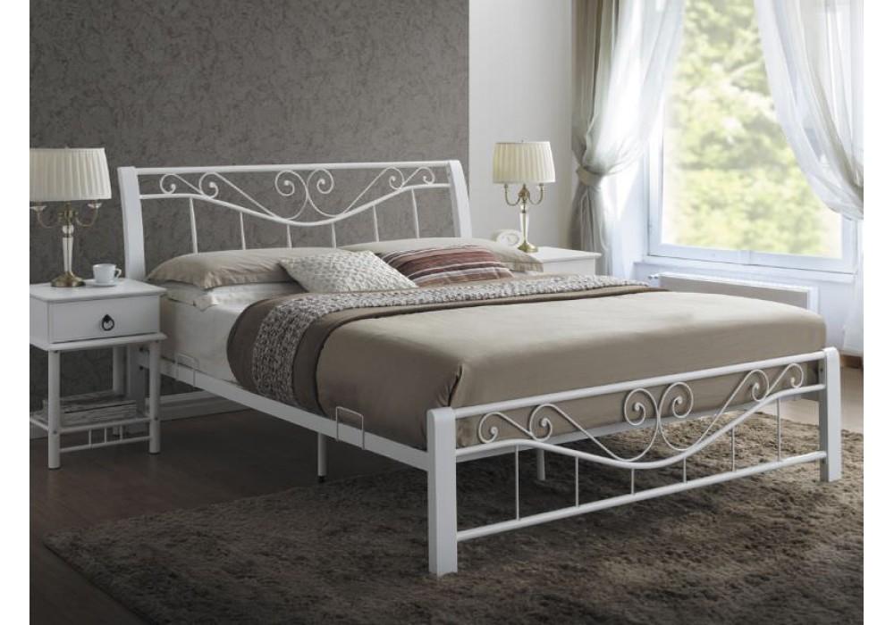 Кровать SIGNAL PARMA белая 160/200