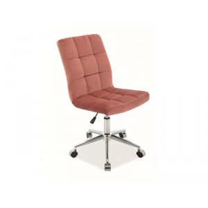 Кресло компьютерное SIGNAL Q-020 VELVET античный розовый